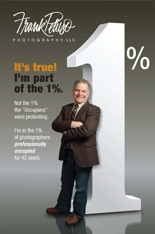 Frank Peluso Is Part Of The 1%... Of Photographers Professionally Occupied For 42 Years