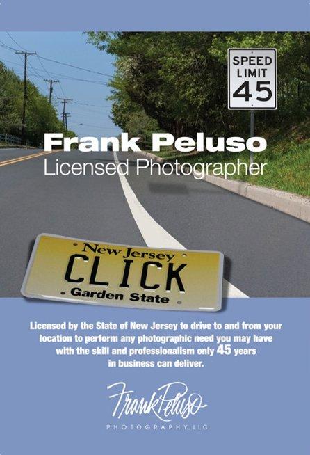 Frank Peluso Licensed Photographer