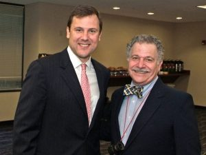 Frank Peluso & State Senator Tom Kean Jr at a SCBP Legislative Breakfast