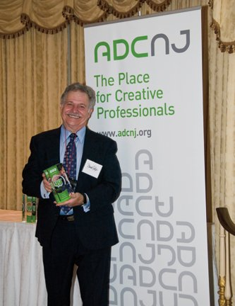 Frank Peluso Receives Award From Art Directors of Central New Jersey